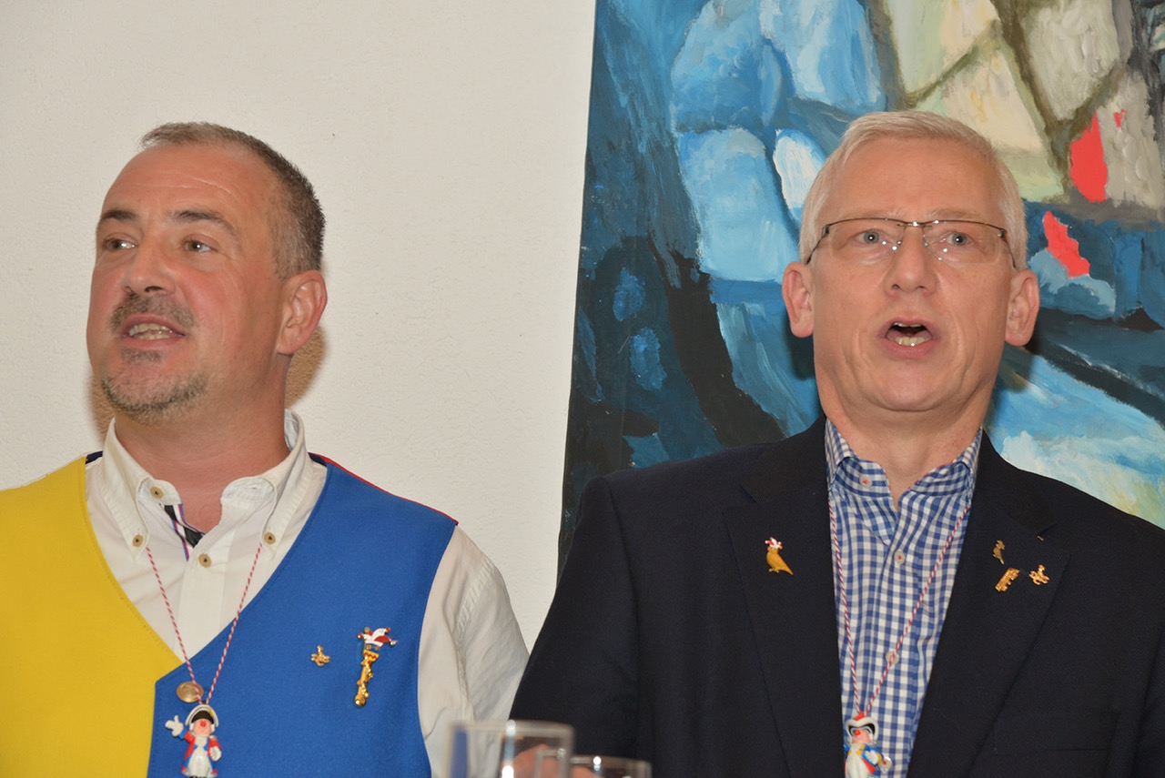 Jürgen Katluhn und Joachim Kleintitschen